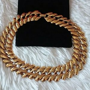 """Monet 16"""" Gold Tone Necklace"""